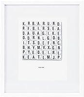 House Doctor Bild Illustration Words 25x30cm