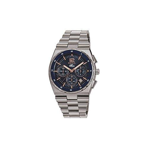 Breil Reloj Cronógrafo para Hombre de Cuarzo con Correa en Acero Inoxidable TW1640