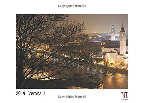Verona II 2019 - White Edition - Timocrates wall calendar, picture calendar, photo calendar - DIN A3 (42 x 30 cm)
