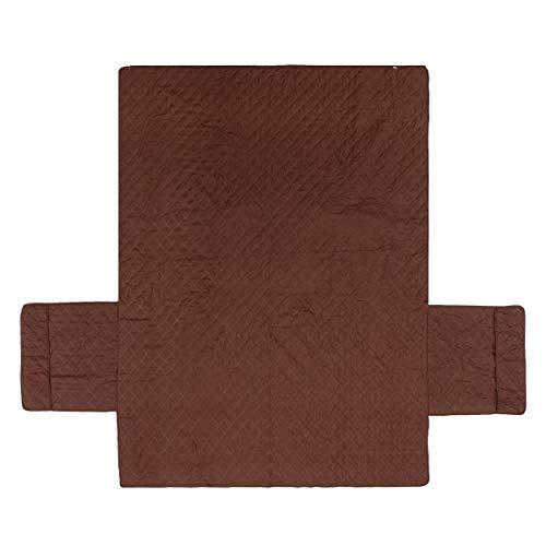 EgBert wasserdichte Sofa Slip Covers Möbel-Beschützer Stuhl Covers Throw W/Pockets - DREI Sitzenden (Sofa Slip Cover)