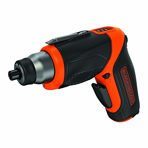 BLACK+DECKER CS3653LC-QW - Atornillador 3.6V Litio con 5 puntas