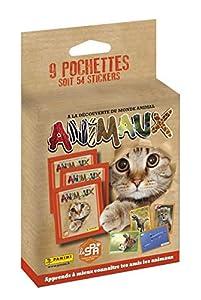 Panini France SA SA- Animales Blister 9 Bolsillos, 2519-038