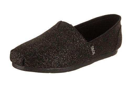 Skechers BOBS From Women's Luxe BOBS - Caviar & Candy Casual Shoe