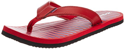 Reebok Men's Solar Flip II Lp Red, Blue, Black and White Synthetic Flip-Flops and House Slippers - 8 UK  available at amazon for Rs.629