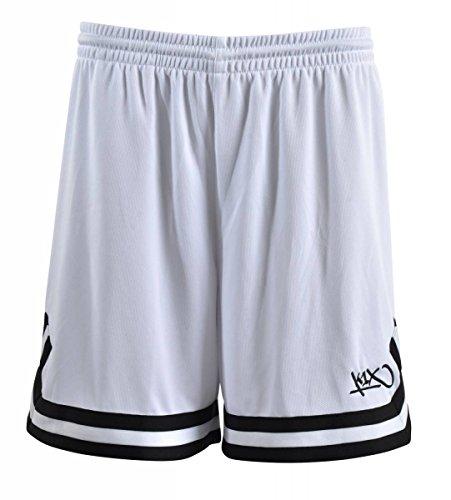 K1X Hardwood Double X Shorts mk2 Basketball weiß-schwarz Damen weiß/schwarz, M