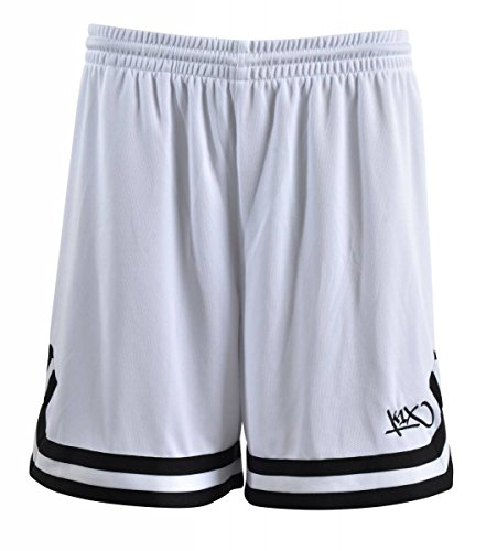 K1X Hardwood Double X Shorts mk2 Basketball weiß-schwarz Damen weiß/schwarz, XS