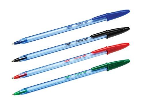 confronta il prezzo Bic Cristal Soft Punta Media 1,2 mm Confezione 4 Penne Colore Nero miglior prezzo