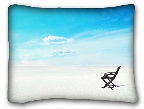Generic Personalisierte (Tiere Katze Sunset Sky Silhouette Meer) Kissenbezüge Betten Zubehör Größe 50,8x 66cm geeignet für Extralang twin-bed pc-bluish-53483, Seide, Pattern 8, European - Paisley Twin-set