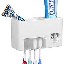Dispensador de pasta de dientes automático y soporte para cepillo de dientes – Kids Touchless dispensador