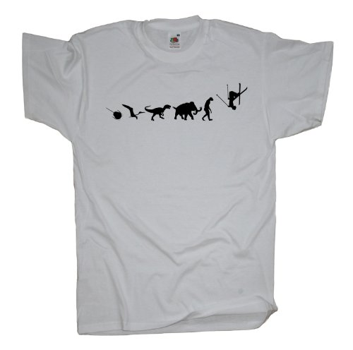 Ma2ca - 500 Mio Years - Freestyle Ski T-Shirt White