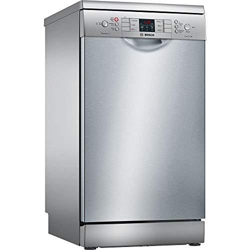 41eQYebBVmL. SS500  - Bosch SPS46II00G Freestanding A+ Rated Slimline Dishwasher -Silver