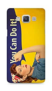 Amez designer printed 3d premium high quality back case cover for Samsung Galaxy A5 (You can do it)