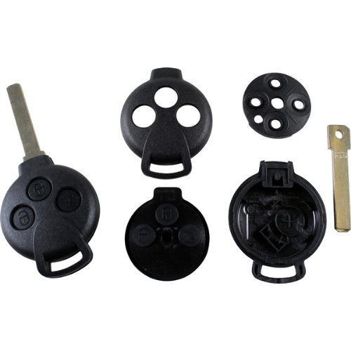 Handsendergehäuse Schlüsselgehäuse Smart CABRIO CITY-COUPE CROSSBLADE FORFOUR FORTWO ROADSTER