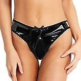AIni Femmes Lingerie Sexy Grande Taille Papillon Noeud Couleur Unie Creux Pas Cher...