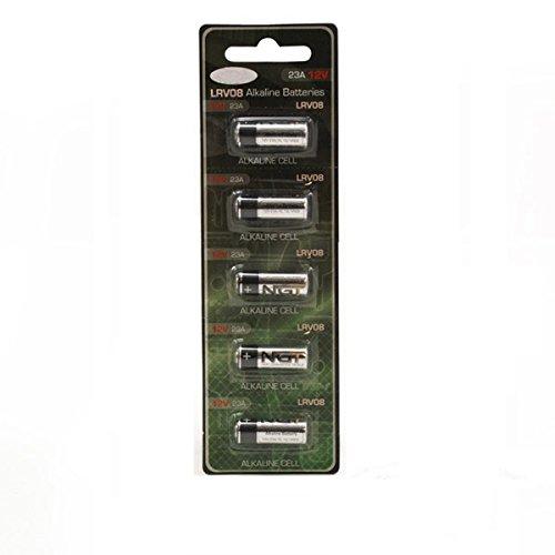 G8DS® 5er Pack Alkaline Batterien 23A 12V LRV08 Einwegbatterie