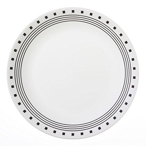 Corelle Livingware City Block 10-1/4 Dinner Plate (Set of 8) by Corelle Coordinates Corelle City-block