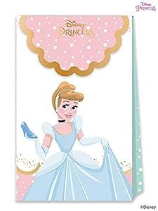 Disney Princess- Bolsas de fiesta, Color rosa (Procos 79103)