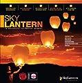 1 x Himmelslaternen Skylaternen fliegende Laterne Skyballon - weiß von Sky Lanterns Ltd. - Du und dein Garten