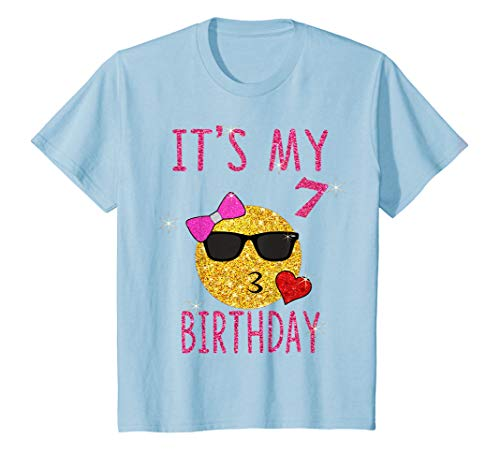 Youth Its My 7th Birthday Shirt 7 Years Old Gift