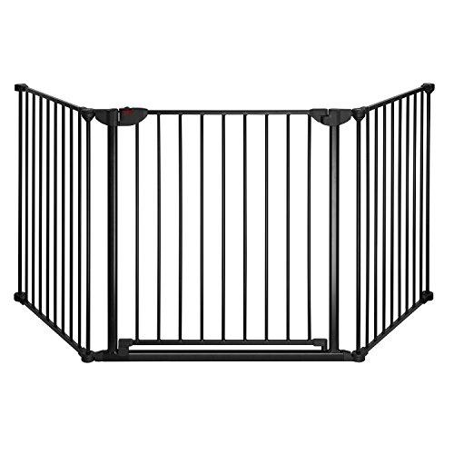 Reer 46702 Absperrgitter Basic 3-teiliges Set zur Absicherung gefährlicher Bereiche von 78.5-207 cm