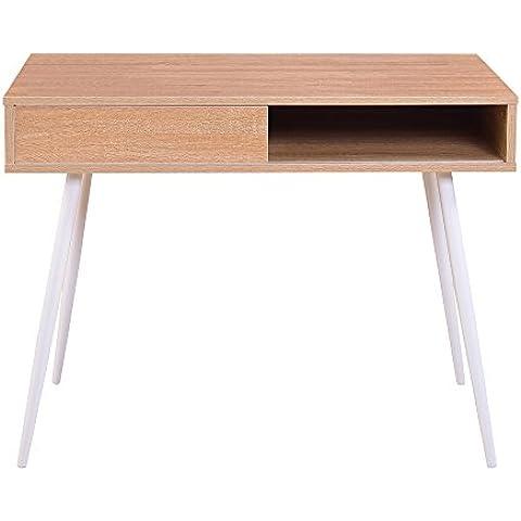 chuangke Fashion semplice cassetto estraibile tavolo scrivania per PC portatile Studio per Bambini