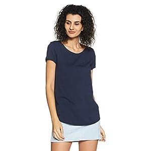 Tommy Hilfiger Women's Plain Regular Fit T-Shirt