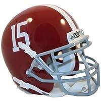 Preisvergleich für Alabama Crimson Tide Mini Helmet by Schutt - Crimson by SS Inc.