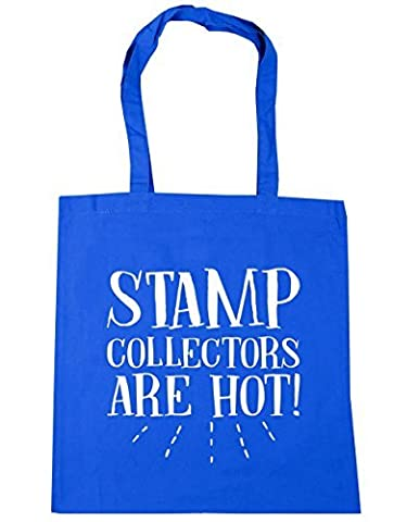 HippoWarehouse Stamps collectors are hot Tote Shopping Gym Beach Bag 42cm x38cm, 10 litres