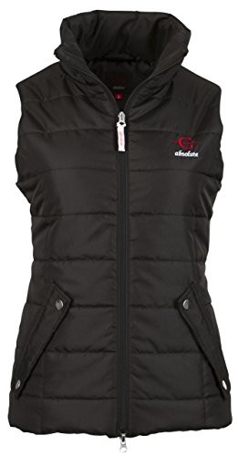 Kerbl Damen Steppweste-C-Absolute Größe Jacke, Schwarz, XL