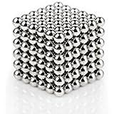 #2: Perfect Magnet Blue / Silver / Maroon Magic Metal Magnet Balls Size: 5 mm - 50 Pieces Magnet Balls