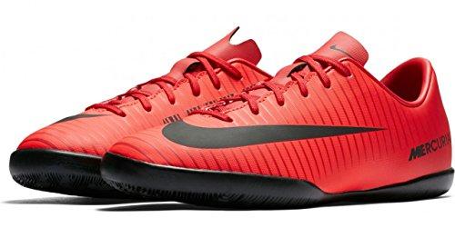 Nike Unisex-Kinder Jr. Mercurial Vapor XI IC Fußballschuhe, Mehrfarbig (University Red/Black-Bright Cr), 36 EU (Nike Schuhe Für Mädchen Größe 11)