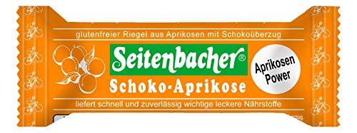 Seitenbacher Aprikosen Riegel, Schoko, 6er Pack (6 x 50 g)