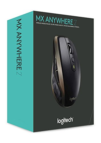 Logitech MX Anywhere 2 Wireless Maus für Windows/Mac (Bluetooth, Unifying) schwarz - 7