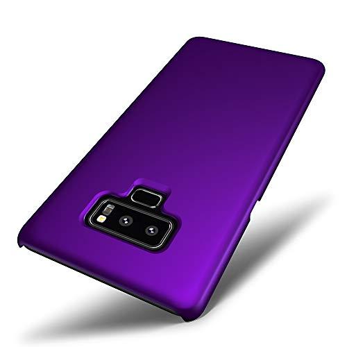 SLEO Funda para Samsung Galaxy Note 9, PC Back Cover de Parachoques Duro Cubierta Protectora para Samsung Galaxy Note 9 - Púrpura