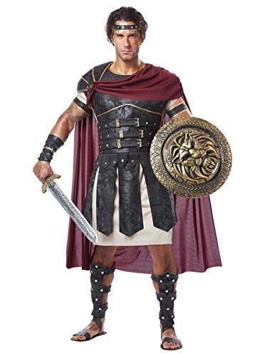 Imagen de disfraz de gladiador romano para hombre talla l