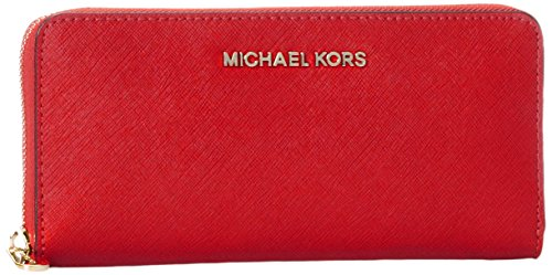 Michael Kors Damen Jet Set Travel Tornistertasche, Rot (Bright Red), 1.9x10.1x21 cm