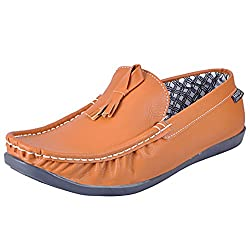 Fausto 1043-43 Tan Mens Loafers