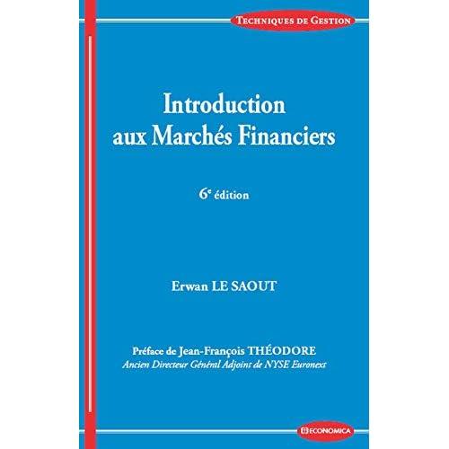 Introduction aux marches financiers