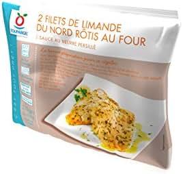 Toupargel Filets de Limande Rôtis au Four Sauce au Beurre Persillé 2 x 105