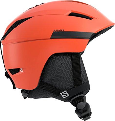 Salomon Ranger² Casco de esquí y Snowboard para Hombre, Interior de Espuma EPS 4D, Talla S, Circunferencia: 53-56 cm, Naranja