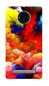 SWAG my CASE PRINTED BACK COVER FOR MICROMAX YU YUNIQUE Multicolor