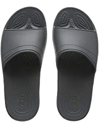crocs Unisex-Erwachsene Classic Slide Sandalen, Navy