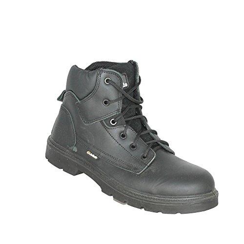 Jallatte jalgerant SAS S3SRC Chaussures de sécurité Chaussures de trekking haut Noir B de Marchandises Noir