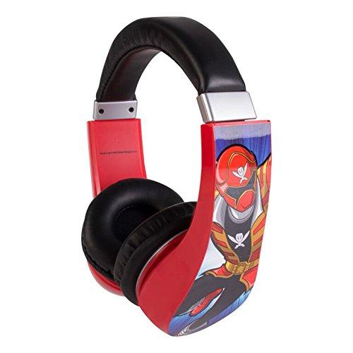 Image of Headphones for Kids Power Rangers Kid Safe 2 Children Friendly Headphones Volume Limited On Ear Headphones for Children (Power Rangers)