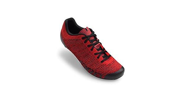 Giro Empire E70 Knit Road, Scarpe da Ciclismo Uomo, Multicolore (Bright Red/Dark Red 000), 48 EU