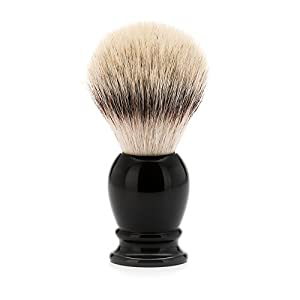 Mühle Classic Rasierpinsel, Silvertip Fibre®, Edelharz schwarz