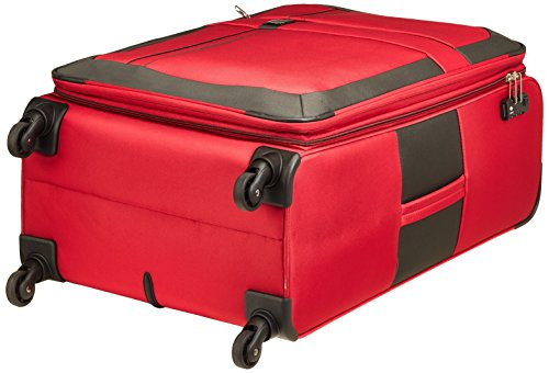 TITAN SPACE 4w Trolley L erweiterbar, red, 376404-10 Koffer, 76 cm, 93 Liter, Red - 4