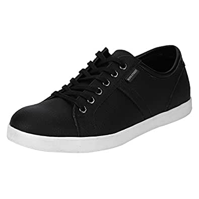 Bond Street by (Red Tape) Men's BSE0071 Black Sneakers-10 UK/India (44 EU) (BSE0071-10)