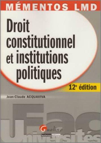 droit-constitutionnel-et-institutions-politiques