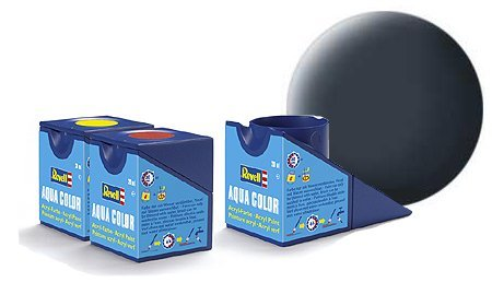revell-greyish-blue-matt-colori-acrilici-18ml-vaso-di-aqua-modello-colore-della-vernice-per-la-model